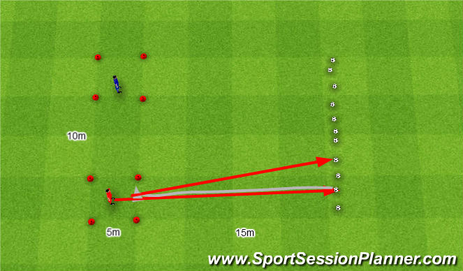Football/Soccer Session Plan Drill (Colour): Złodziej.