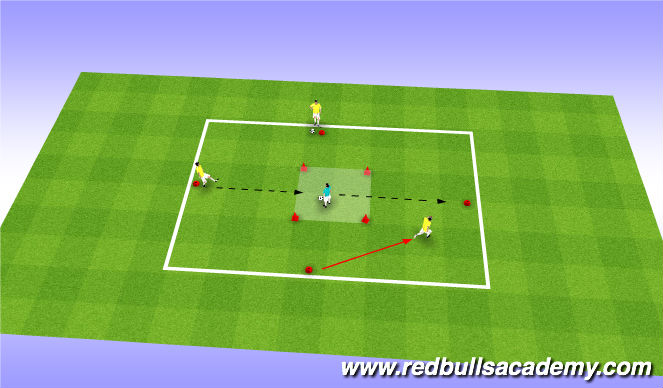 Football/Soccer Session Plan Drill (Colour): Where's Waldo
