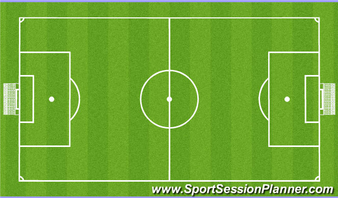 Football/Soccer Session Plan Drill (Colour): Spila: