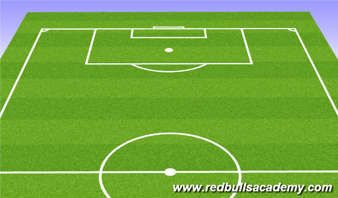 Football/Soccer Session Plan Drill (Colour): Dynamic Warmup FIFA 11+