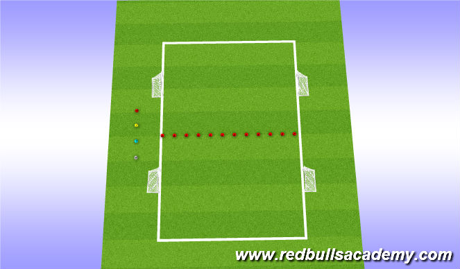 Football/Soccer Session Plan Drill (Colour): MLS CUP