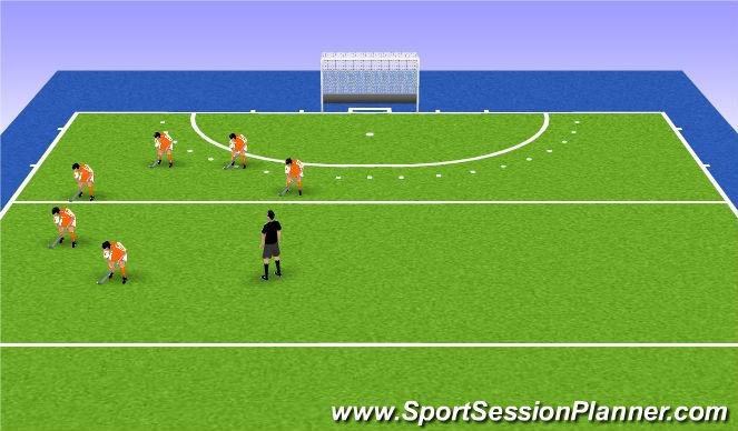 Hockey Session Plan Drill (Colour): inleiding