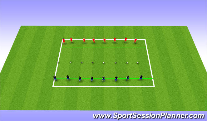 Football/Soccer Session Plan Drill (Colour): Speed Ladder (Advanced)