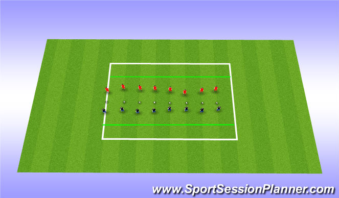Football/Soccer Session Plan Drill (Colour): Speed Ladder