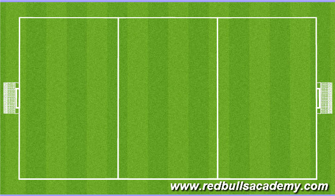 Football/Soccer Session Plan Drill (Colour): Practice 4