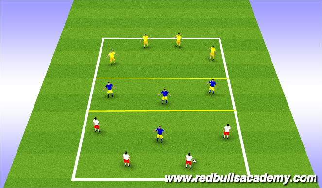 Football/Soccer Session Plan Drill (Colour): Codition Game