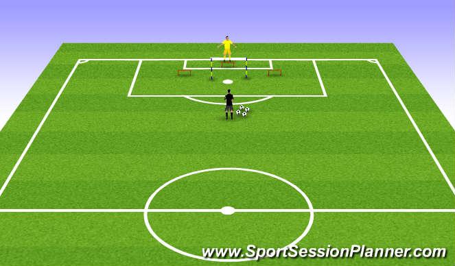 Football/Soccer Session Plan Drill (Colour): Leg/Jump power