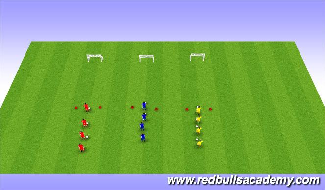 Football/Soccer Session Plan Drill (Colour): Technica