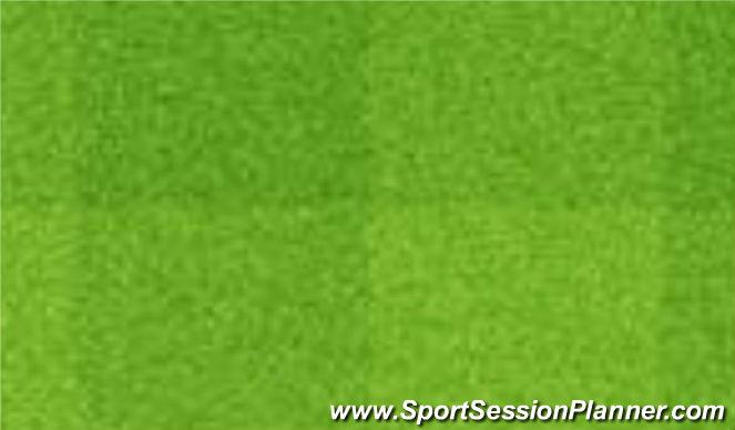 Football/Soccer Session Plan Drill (Colour): Dotknij linę.