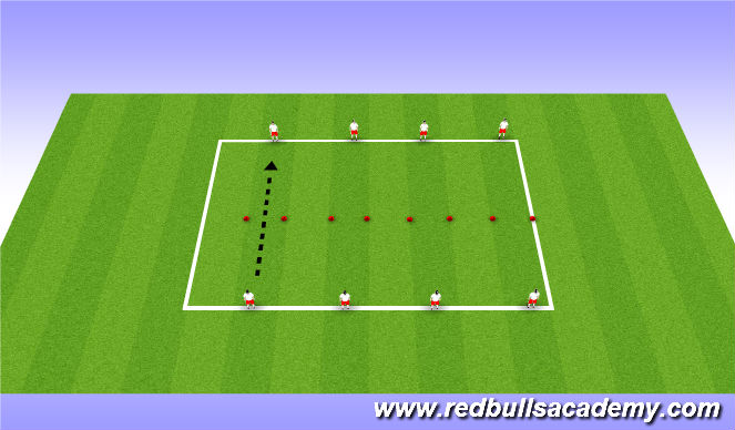 Football/Soccer Session Plan Drill (Colour): Ladders Comp.
