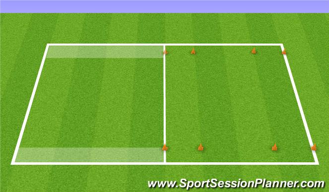 Football/Soccer Session Plan Drill (Colour): Jordan Clark SSG