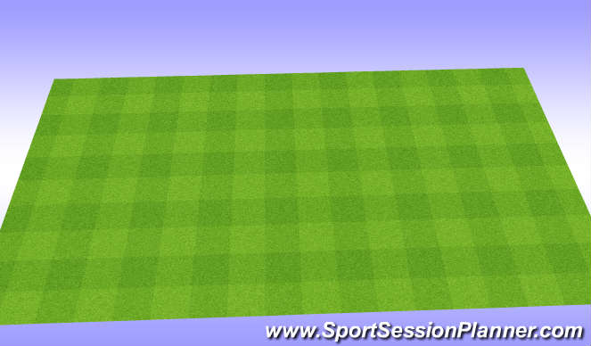 Football/Soccer Session Plan Drill (Colour): Rolverdeling