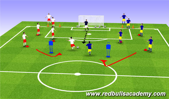 Football/Soccer Session Plan Drill (Colour): World's Greatest Game