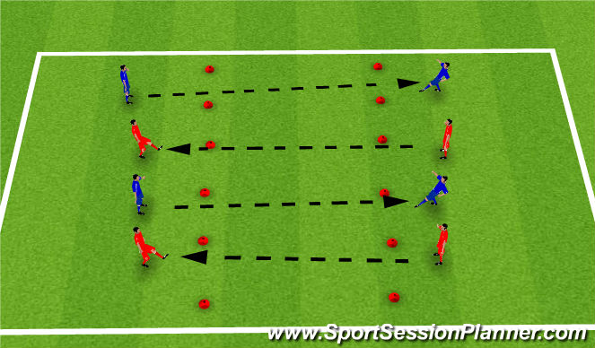 Football/Soccer Session Plan Drill (Colour): Black hole Passing
