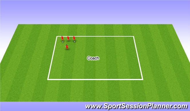 Football/Soccer Session Plan Drill (Colour): Technique Work