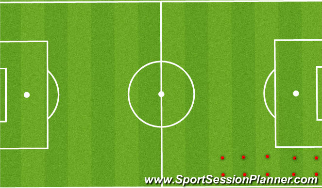 Football/Soccer Session Plan Drill (Colour): FIFA 11 +