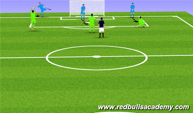 Football/Soccer Session Plan Drill (Colour): WU Catches