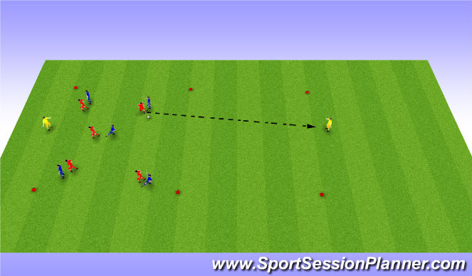 Football/Soccer Session Plan Drill (Colour): Expanded Activiy