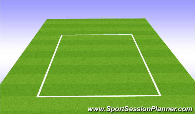 Football/Soccer Session Plan Drill (Colour): small side 3vs3
