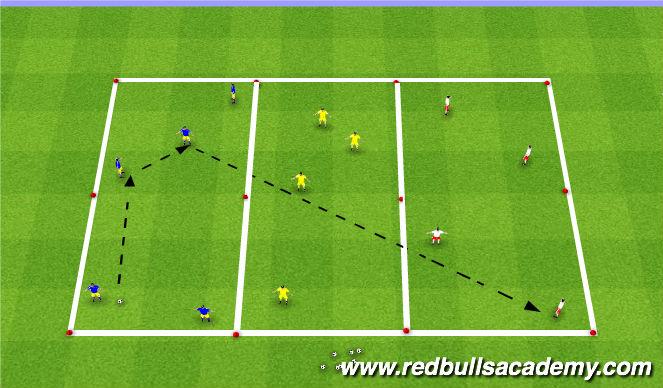 Football/Soccer Session Plan Drill (Colour): Main-Theme 3