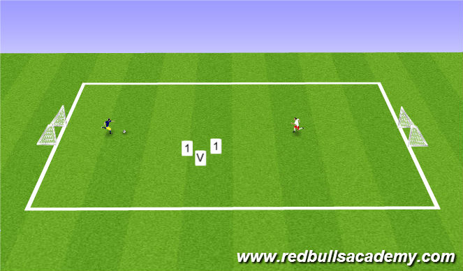 Football/Soccer Session Plan Drill (Colour): full oppose