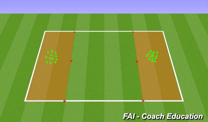 Football/Soccer Session Plan Drill (Colour): Striker Blowling