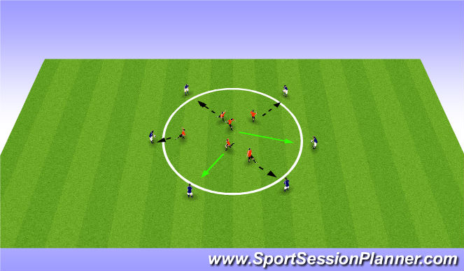 Football/Soccer Session Plan Drill (Colour): Windows