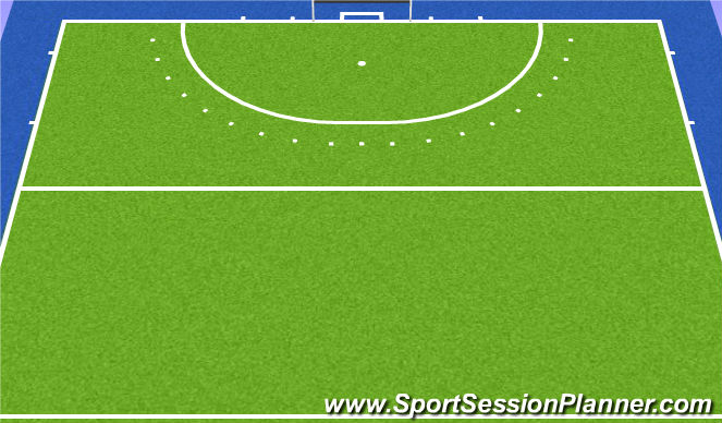 Hockey Session Plan Drill (Colour): Games