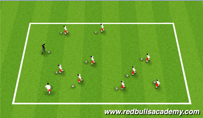 Football/Soccer Session Plan Drill (Colour): I can do this, Can you?(Cars)
