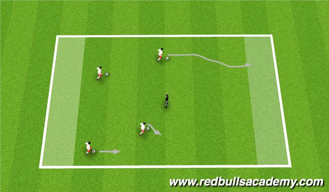 Football/Soccer Session Plan Drill (Colour): Cars Radiator Springs Run