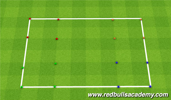 Football/Soccer Session Plan Drill (Colour): Cars Piston Cup