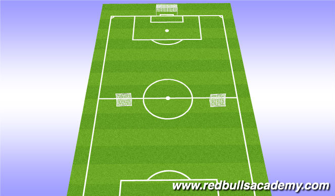 Football/Soccer Session Plan Drill (Colour): EXT Small sided