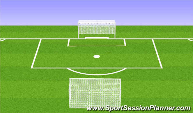 Football/Soccer Session Plan Drill (Colour): Flying Changes or 8v8