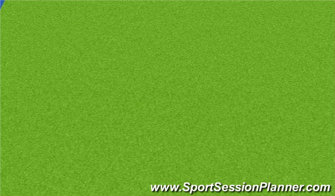 Hockey Session Plan Drill (Colour): Screen 2