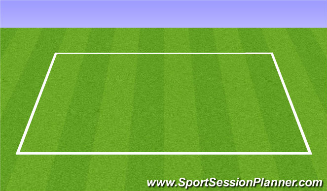 Football/Soccer Session Plan Drill (Colour): Step 1 Dynamic Stretching