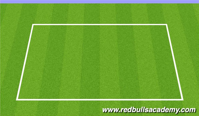 Football/Soccer Session Plan Drill (Colour): SAQ Warm-up