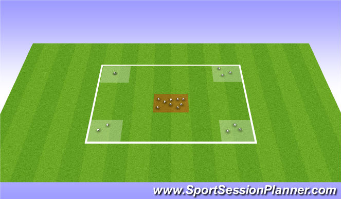 Football/Soccer Session Plan Drill (Colour): Hungary Hippos
